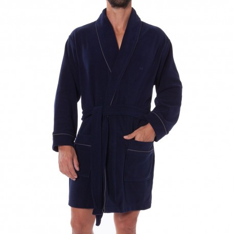 Homewear Stephan Dressing Gown - Navy