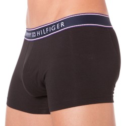 Boxer Cotton Stripe Noir Tommy Hilfiger