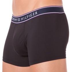 Boxer Micro Flex Stripe Noir Tommy Hilfiger