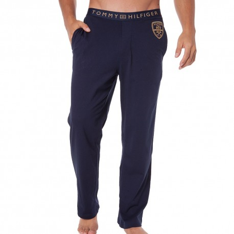 Embroidery Pants - Navy