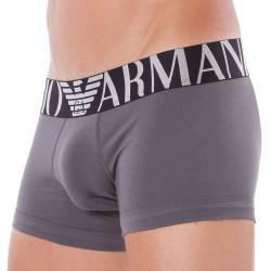 Boxer High Logo Band Gris Emporio Armani