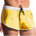 M561 Satin Sprinter Short - Yellow