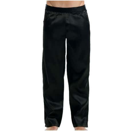 Satin Pants - Black