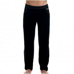 Pantalon Velvet Satin Noir Modus Vivendi