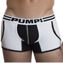 Boxer Jogger Drop Kick Blanc - Noir