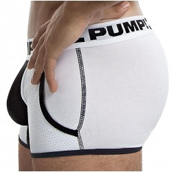 Boxer Jogger Drop Kick Blanc - Noir Pump!