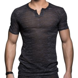 T-Shirt Touch Clip Gris Andrew Christian