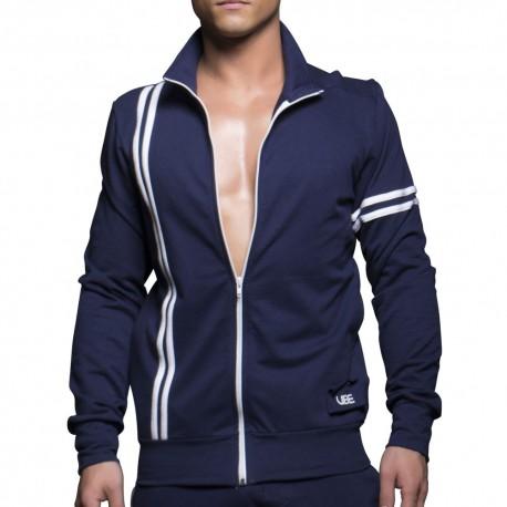 Vibe Track Jacket - Navy
