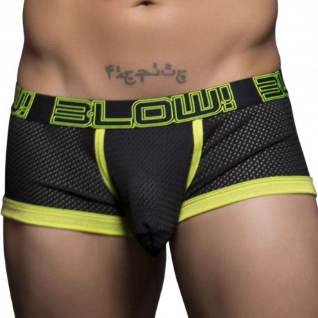 Blow! Mesh Boxer - Black