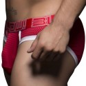 Blow! Mesh Brief - Red