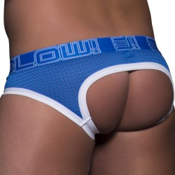 Jock Strap Blow! Mesh Locker Room Royal Andrew Christian