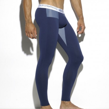 Pique Combined Long John - Navy