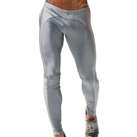 Dagger Legging Pants - Silver