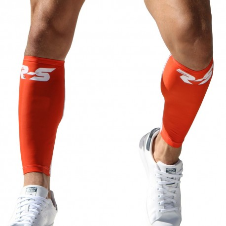2-Pack Lap Calf Sleeves - Orange