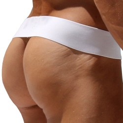 Cinto Backless Thong - White Rufskin