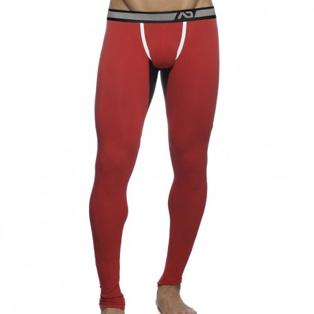 Athletic Long John - Red