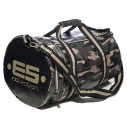 Sac de Sport Athletic Camouflage Vert ES Collection
