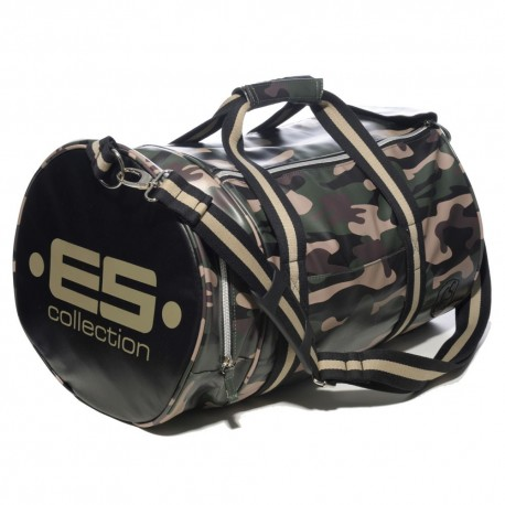 Athletic Sports Bag - Green Camouflage
