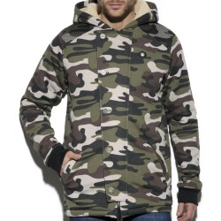 Manteau Military Camouflage ES Collection