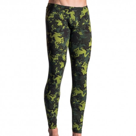 M615 Bungee Legging - Frogs