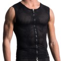 M603 Zipped Vest - Black