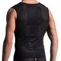 M603 Zipped Vest - Black