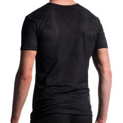 T-Shirt V-Neck M603 Noir Manstore
