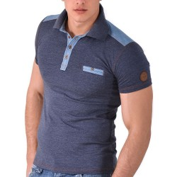 Polo Slim Fit Denim Roberto Lucca