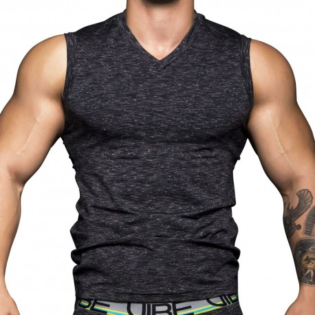 Vibe Gym Tank Top - Asphalt