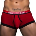 Almost Naked Retro Tagless Boxer - Red