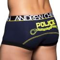 Police Boxer - Navy