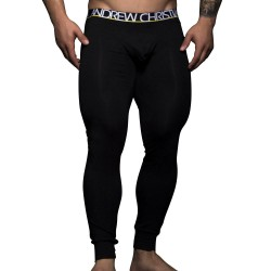 Caleçon Long Almost Naked Tagless Cotton Noir Andrew Christian