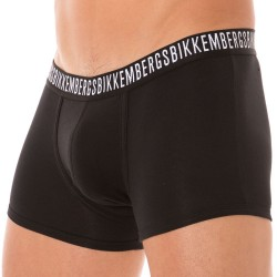 Boxer Stretch Cotton Noir Bikkembergs