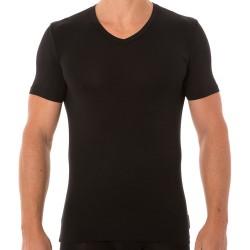 T-Shirt Micromodal Noir Bikkembergs