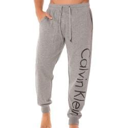 Pantalon Soft Lounge Logo Gris Calvin Klein