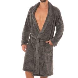 Robe de Chambre Grise Calvin Klein
