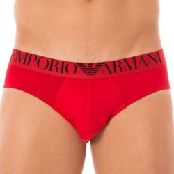 Slip Mirror Effect Eagle Rouge Emporio Armani