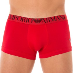 Boxer Mirror Effect Eagle Rouge Emporio Armani