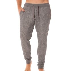 Pantalon French Terry Athletics Gris Emporio Armani
