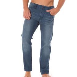 Pantalon Jeans Stretch Rick Indigo Solid