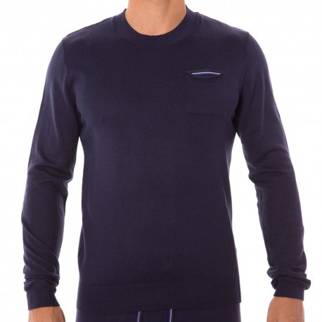 Pull Soft Knit Marine