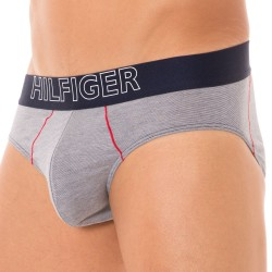 Slip Athletic Gris Tommy Hilfiger