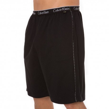 CK One Cotton Stretch Bermuda - Black