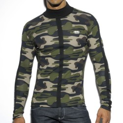 T-Shirt Color Turtleneck Camouflage ES Collection