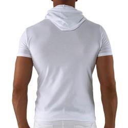 T-Shirt Hoody Blanc Roberto Lucca