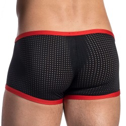 Boxer Mini Pants RED 1672 Noir - Rouge Olaf Benz