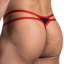 String Mini RED 1672 Noir - Rouge Olaf Benz