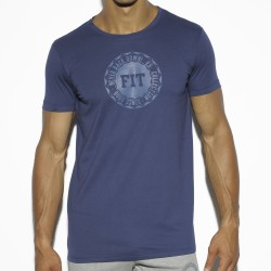 T-Shirt Basic Cotton Fit Marine ES Collection