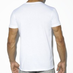 T-Shirt Basic Cotton Fit Blanc ES Collection