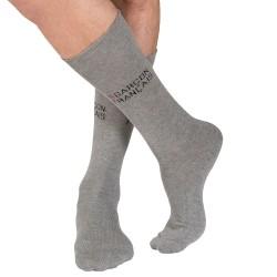 Socks - Grey Garçon Français